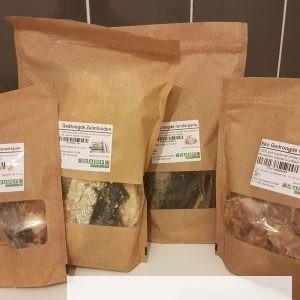 Biologische gedroogde Snacks- Nu in de aanbieding 2e halve prijs!!