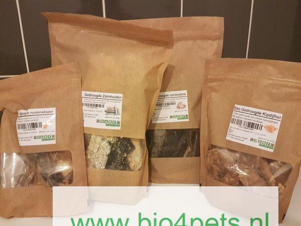 darf biologische snacks allerlei smaken, natuurlijk gedroogd voor hond en kat