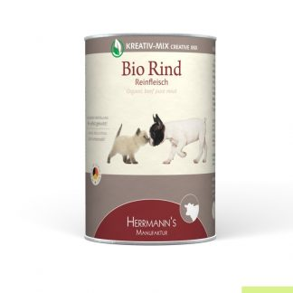 Herrmanns Bio Puur Rund voor hond en kat 800 gram
