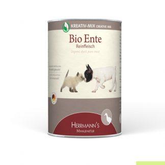 Herrmanns Puur bio eend voor hond en kat