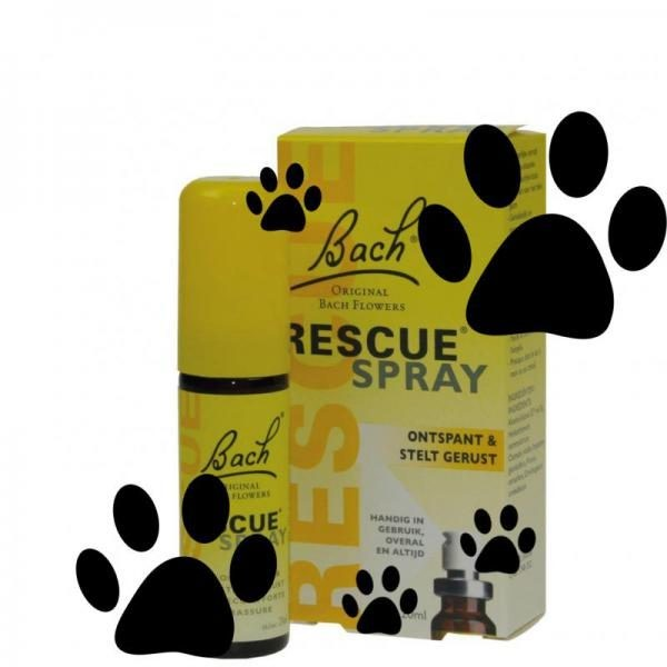 Bach rescue remedy pets spray dieren