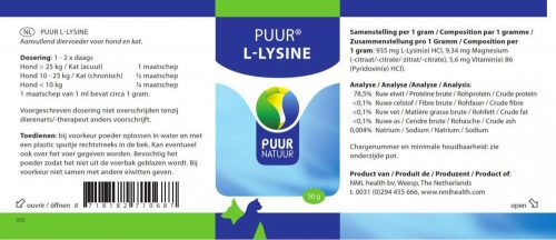 Puur L-Lysine