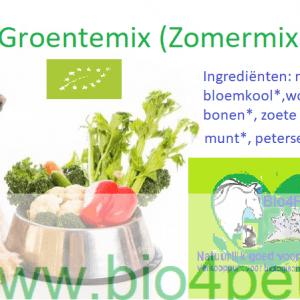 Bio4Pets verse Groentemix (Seizoensmix)