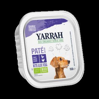 Yarrah_hond_graanvrij_pate_kip_DOG_Alu_Yarrah_Pate_Chicken_Turkey_150g