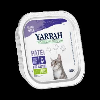 yarrah-kat-cat-pate-kip-kalkoenCAT_Alu_Yarrah_Pate_Chicken_Turkey_100g IT_8714265976551