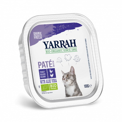 yarrah-kat-cat-pate-kip-kalkoenCAT_Alu_Yarrah_Pate_Chicken_Turkey_100g IT_8714265976551