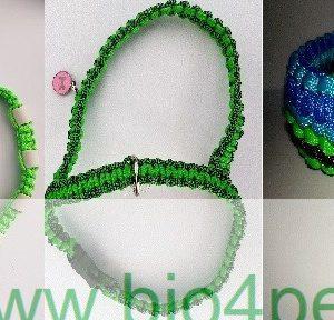 Halsbanden-Teek-em banden (hals,enkel of armband)