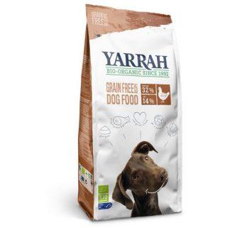 Yarrah hond-biologische droge brokken-allerlei
