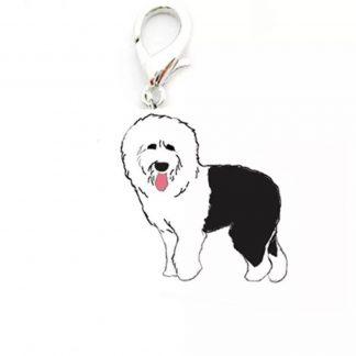 schapendoes-hangertje-penning-hond