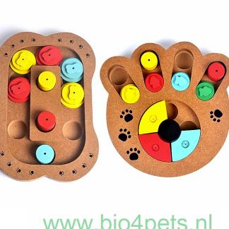 duurzaam-speelgoed-hond-kat-interactieve-houten-puzzel-pootafdruk-en-bot