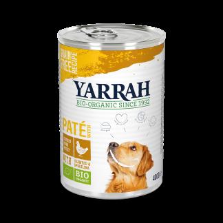 Yarrah-hond-graanvrij-pate-kip-DOG_Tin_Pate_Chicken 400g