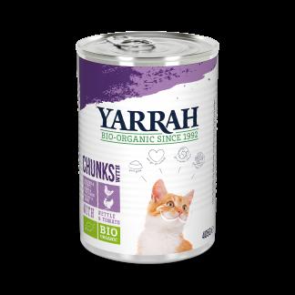 Yarrh-kat-chunks-kalkoen-kip-CAT_Tin_Chunks_ChickenTurkey 405g