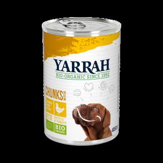Yarrah_hond_chunks_saus_kip_DOG_Tin_Chunks_Chicken 405g