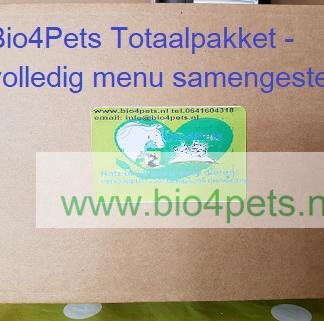 Bio4Pets Totaalpakket-samengesteld menu