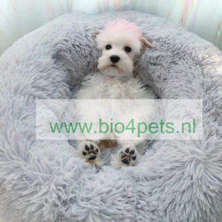 fluffy-hondenmand-licht-grijs