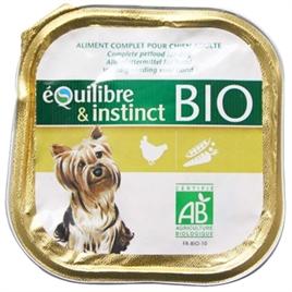 Equilibre & Instinct Paté Bio Hond Kip 9x300 gr