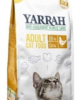 Yarrah Cat Biologische Brokken Kip 2,4 kg