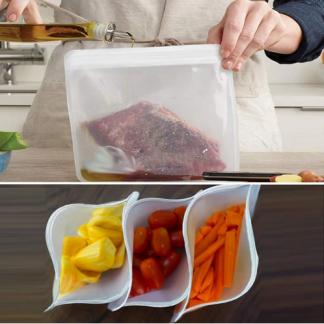 Siliconen-plastic-vrij-vershoudzakken-zakjes-1500ml-bpa-vrij-plastic-soep-zak-voedsel-herbruikbaar-koelkast-zip-peva