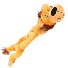happy-pet-wild-crinkler-leeuw-speelgoed-hond-knuffel-slap-zonder-vulling-met pieper-squeeker-knisper