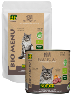 Biofood bio Organic menu