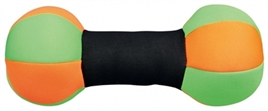 trixie_ aqua_dumbell_drijvend_groen-oranje-zwart