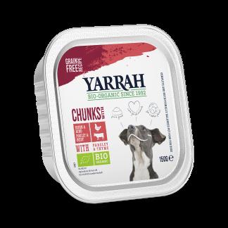Yarrah_hond_graanvrij_chunks__DOG_Alu_Yarrah_Chunks_Beef_150g