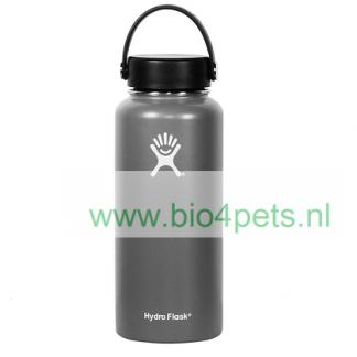 hydro-flask-aanbieding-voordeel-licht-grijs-met-schroefdop