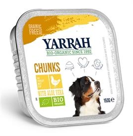 yarrah-dog-alu-brokjes-kip-aloe-vera-in-saus-graanvrij-12x150gram