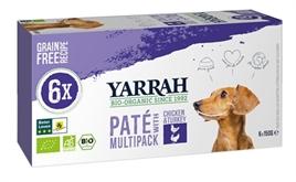 yarrah-dog-alu-pate-multipack-kip-kalkoen-6x150gr