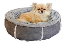 hondenmand-donut-pluche-51cm