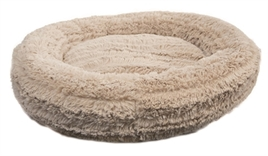hugs-hondenmand-teddy-donut-beige-61cm