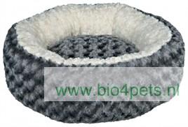 trixie-hondenmand-rond-grijs-creme-70cm