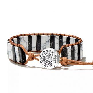 Bohemian-Tree-Of-Life-Natuurstenen-Armband - Handgemaakt