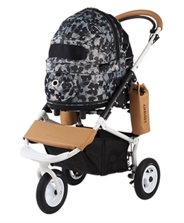 airbuggy-hondenbuggy-dome2-sm-met-rem-flower-camo