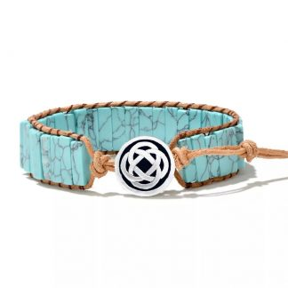 armband-turquoise-chakra-natuursteen-handgemaakt-bloem-leven-man-vrouw