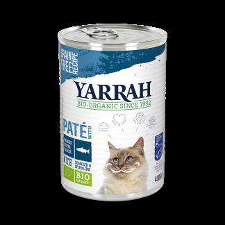 Yarrah-kat-pate-vis-blik-CAT_Tin_Pate_Fish 400g