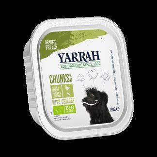 Yarrah_hond_chunks_kips_groenten__DOG_Alu_Yarrah_Chunks_Chicken_Vegetables_150g