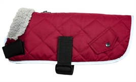 hondenjas-go-walk-quilted-comfort-cranberry-rood-M