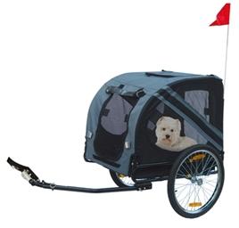 fietskar-Karlie-Doggy-Liner-economy-grijs-zwart-125x95x72cm