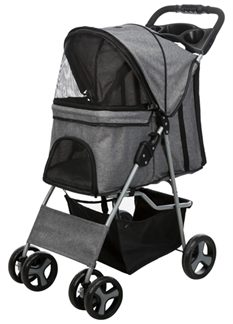 trixie-hondenbuggy-grijs-47x80x100cm