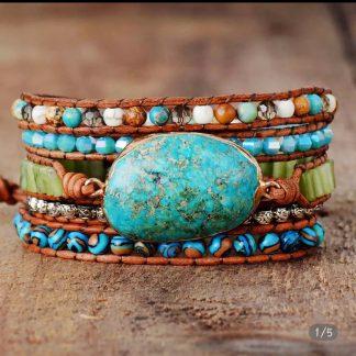 armband-chysocolla-blauw-natuursteen-wikkelarmband-leer-voorkant