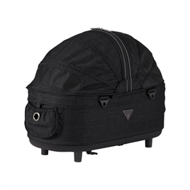 airbuggy-reismand-hondenbuggy-dome2-M-cot-earth-zwart-67x33x51cm