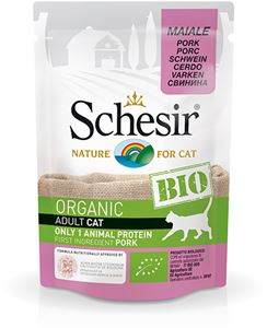 schesir-bio-kat-cat-pouch-varken-pork-biologisch-kattenvoer-natvoer-16x85g